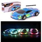 Car Kids Toy Light Hundred Power's Novelty Toy Speed Mucical Car Battery Operated Kid's Bump And Go Toy Car W/Cool Flashing Lights Sounds