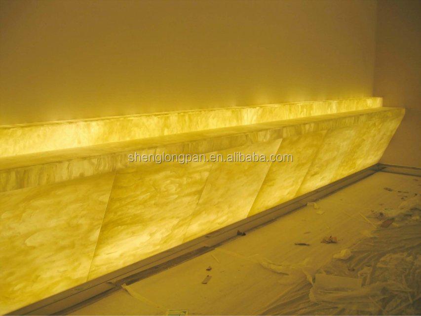 Decoratieve lichtdoorlatende steen kunststof platen product id 60047089784 - Decoratieve platen ...