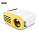 AAO NEW arrival model YG200 mini pocket projector for Home Theater 1080P lcd projector with USB AV HDMI ports