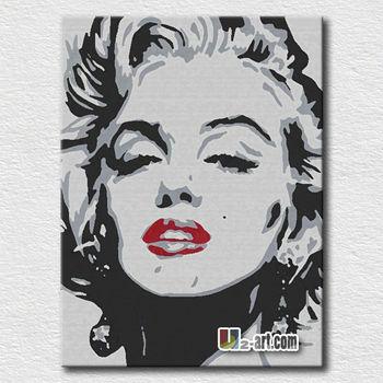 Hot Sexy Marilyn Monroe Pop Wall Art Painting
