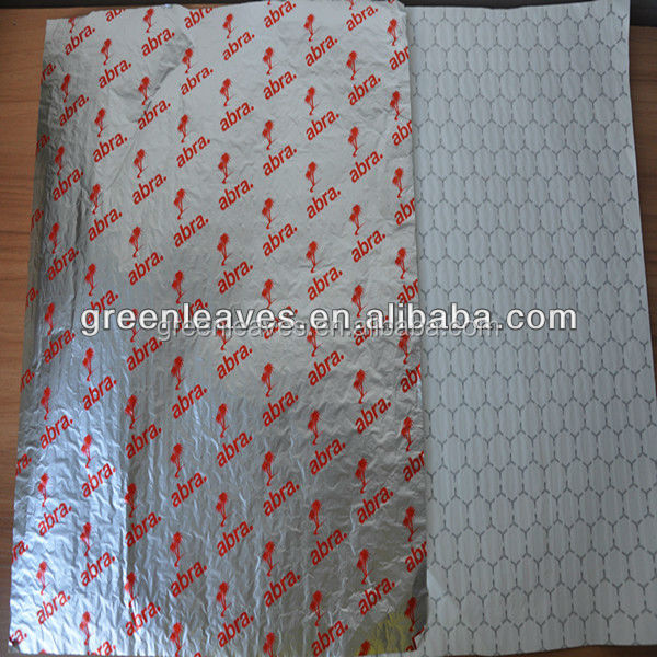 Aluminium Foil Laminated Hamburger Wrapping Paper