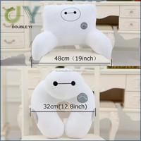 Custom Set of 2 Cute Cartoon Pattern Big Hero 6 Baymax U Neck Travel Pillow Chair Cushions Plush Figure Toy handmade cute neck