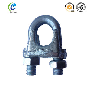 Rigging Hardware U.S. Type Drop Forged Wire Rope Clip