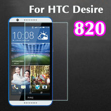Ultra Thin 0.3mm 2.5D Explosion Proof Premium Tuflite Toughened Tempered Glass Screen Protector Anti-scratch For HTC Desire 820