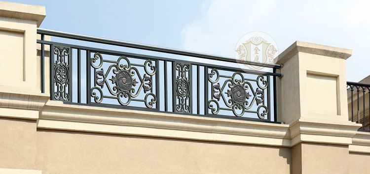 Modern Design For Used Wrought Iron Square Pipe Balcony ...