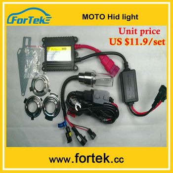 Oem Motorcycle Hid Xenon Light 12v 35w/55w H6m/ba20d/h4/h7 3000k ...
