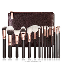 Personalized Professional 15pcs Custom Logo Private Label Make Up Cosmetic Makeup Brush Set