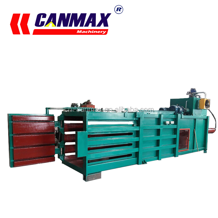 Lego CANMAX cotton bale press machine, cardboard baler prices, scrap metal baler for sale in South America