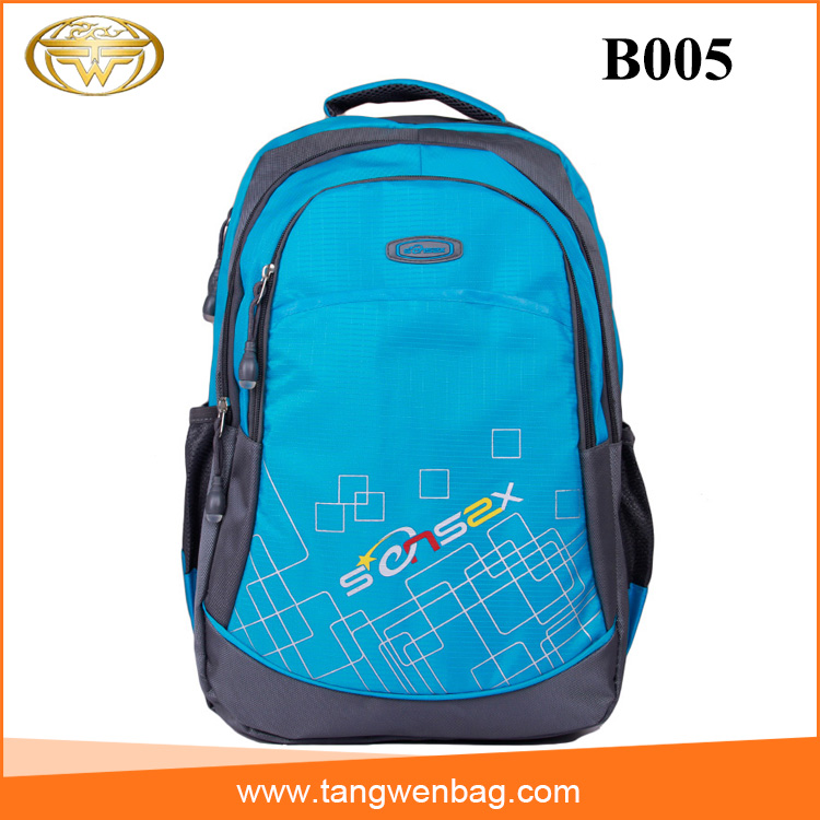 Manufacturer color life school printing custom outdoor adventure backpack