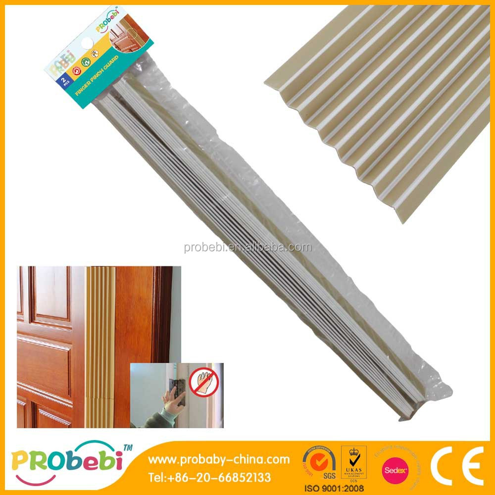 Pvc Door Finger Pinch Guard / Cabinet Edge Guard - Buy Finger ...