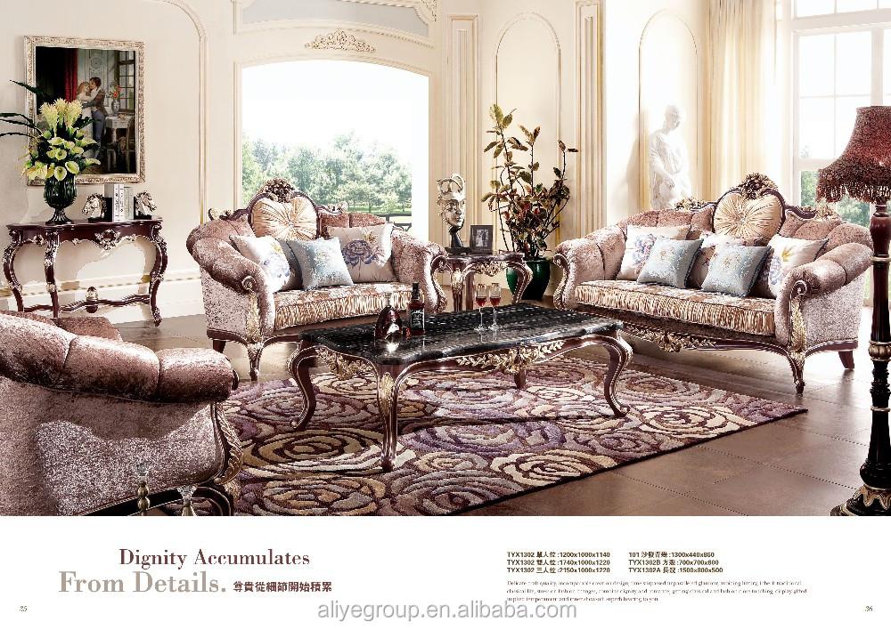 Tyx1302- High Quality Classic Living Room Furniture Royal Sofa Luxury  Exclusive Sofa Antique Sofa - Buy Classical French Antique Sofa,Home Living  Room ...