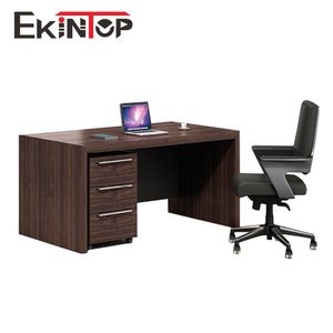 Imported latest modern elegant design size cheap price secretary mdf wooden staff executive office table photos