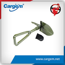 CARGEM outdoor mini survival folding shovel made in china