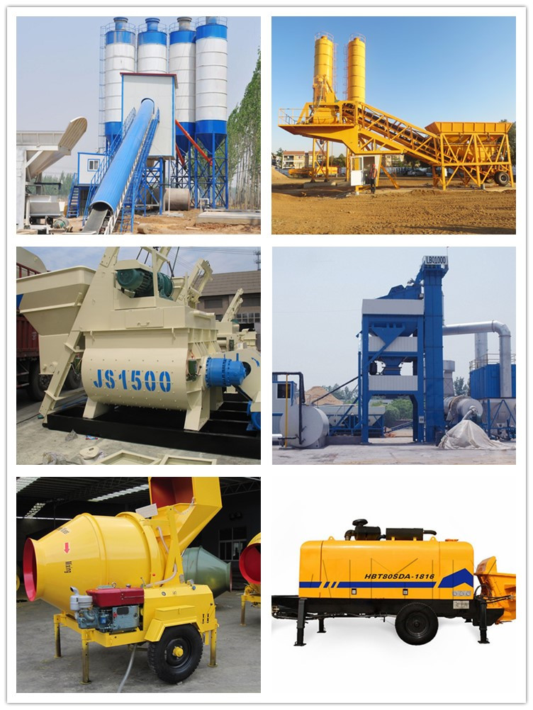 Low price of portable 40m3/h small concrete pumping machine
