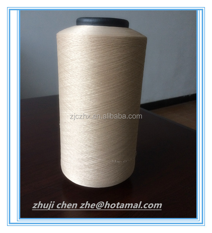 polyester spandex covered yarn