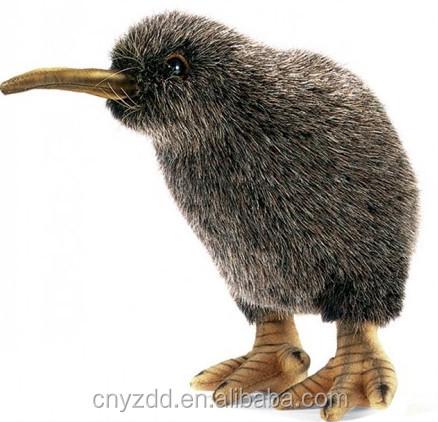 Plush Kiwi Toys Lifelike Bird Kiwi Toys