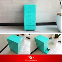 Fashion drawer file colorful file cabinets