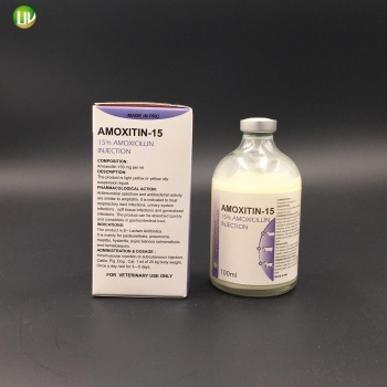 antibiotic amoxycillin Injection 15 for big animal oral solution