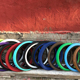 fat tire 20inch colored bmx tires cheap bmx bike parts
