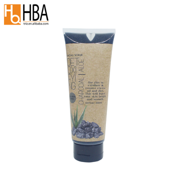 Supplier New Arrival Private Label Charcoal Facial Scrub for Body