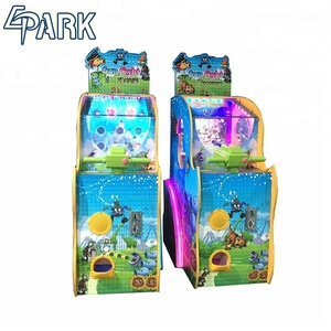 Indoor Coin Operated Arcade Electronic Dinosaur War Game Machine