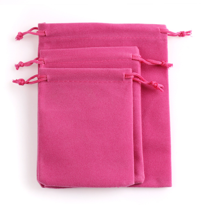 Wholesale 3 size 8x10cm,9x12cm,12x14.5cm velvet bags for packing gifts velvet bags jewellery pouches red velvet drawstring bag