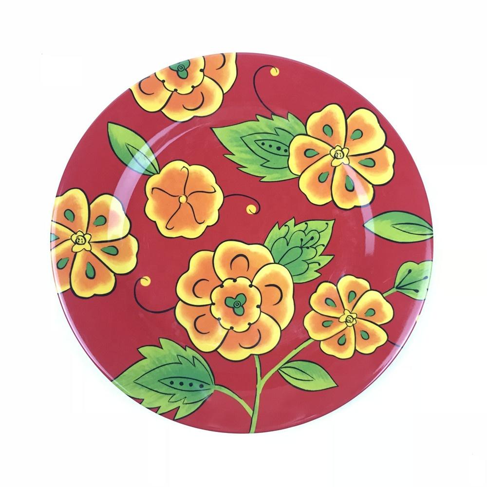 Bulk China Red Melamine Dinner Plates Plastic Diner Plates - Buy Red  Melamine Dinner Plates,Bulk China Plates,Diner Plates Plastic Product on