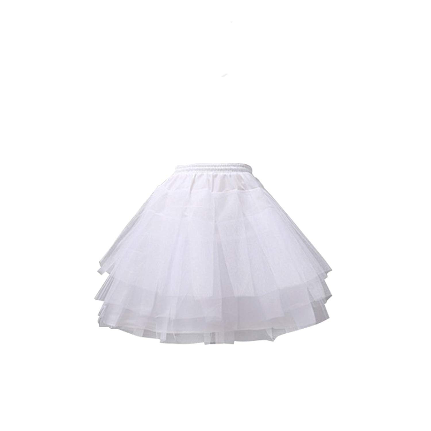 a04154d080671 Get Quotations · COUCOU Age Girls Lolita Petticoat Underskirt Half Slips  Hoopless