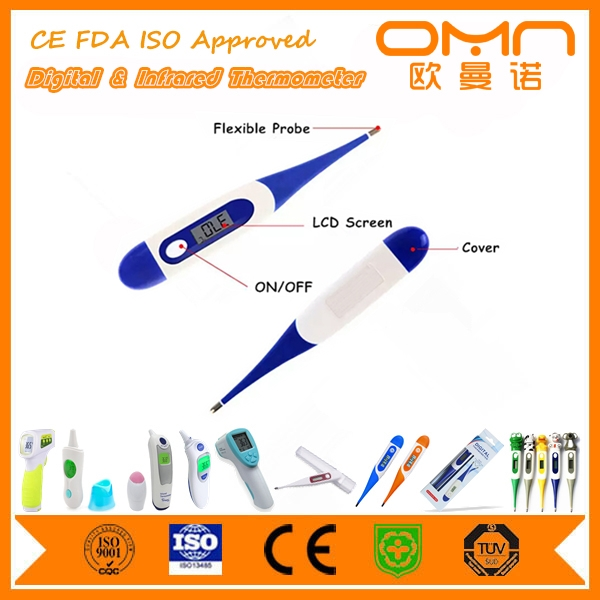 OEM Chinese Manufacturer Customized Digital Thermometer with FDA