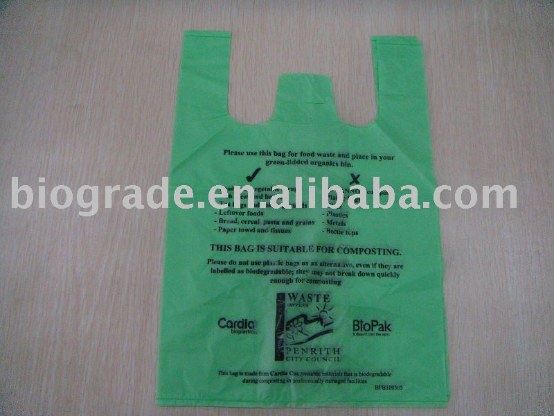 biodegradable waste bags