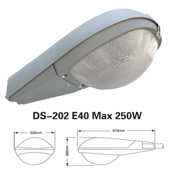 Aluminium Road Park Sodium Vapour Street Lighting Shell Fixture Manufacturer