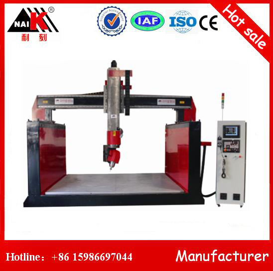 Large Working Area Cnc Machine Center 3d 5 Axis Cnc Router Wood Carving