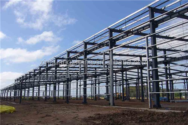 ISO & CE certificated steel frame 2 story warehouse