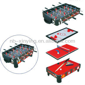 Wooden 5 in 1 Multifunctional Table Game Set/mini tabel games