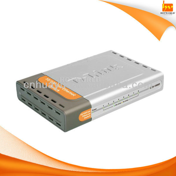 8 port ethernet network switch 10/100mbps