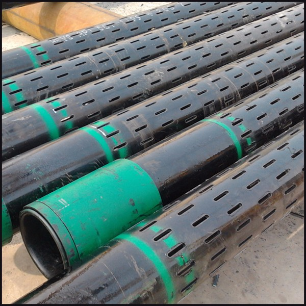 Deep well slotted casing pipe water filter oil