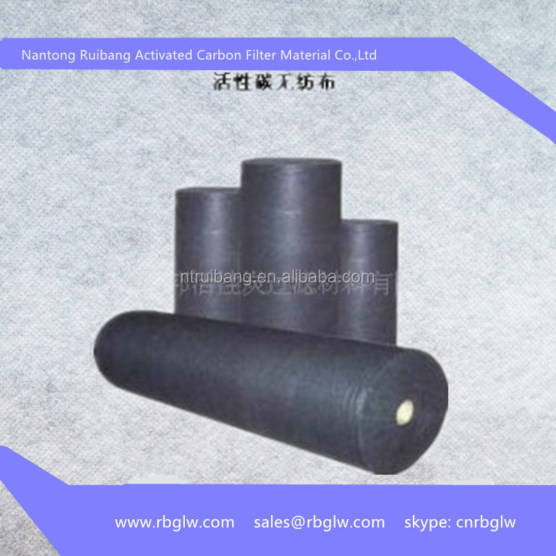 polyester fiber activated carbon fiber cloth roll