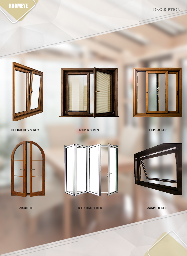 Aluminum alloy tilt and turn window