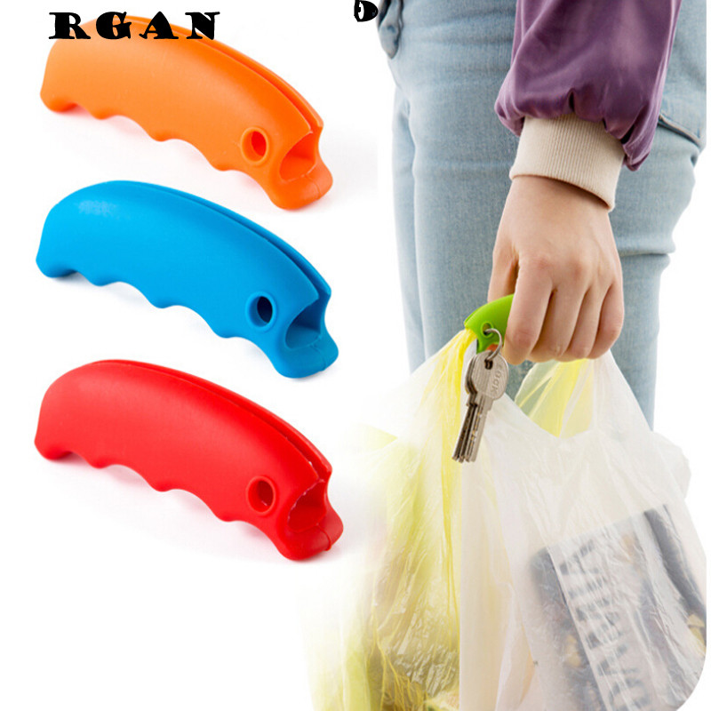 1PCS convenient bag hanging holder quality mention dish carry bags 15g Kitchen Gadgets Silicone kitchen accessories save effort