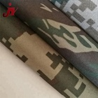 Jinyi DTY 600D recycled polyester printed custom fabric printing material military digital camouflage fabric