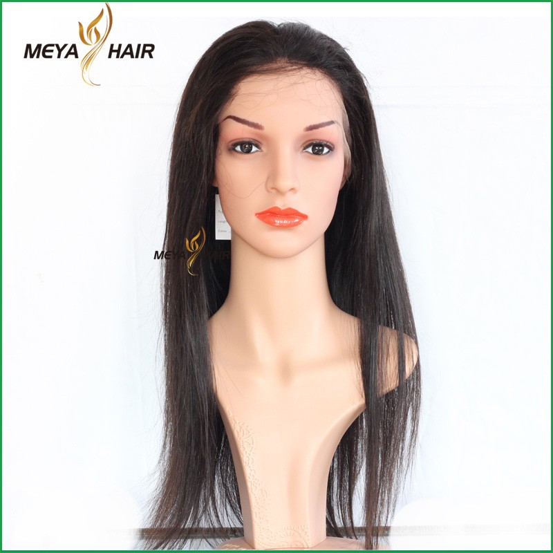 Indian Discount product of human hair wig for women silky straight full lace wig remy hair high demand products in chennai