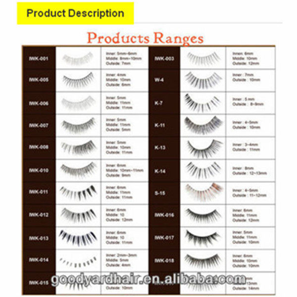 Custom Packaging Synthetic Material Wholesale Private Label Eyelash
