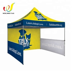 Custom Promotion Trade Show Fold Aluminum 10x10 Tent For Stall Outdoor Event Advertise