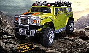 Ride on car HUMMER style. Electric Vehicle. Battery Operated Car. Toy With Remote Control. 2 speeds. For kids 2-5 years.