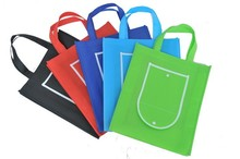 HIT environmental oem tote shopping cheapest gold metal 4 color pp non woven bag