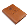 A6 Personalised Genuine Leather Notebook Diary Cover Custom Printed Planner