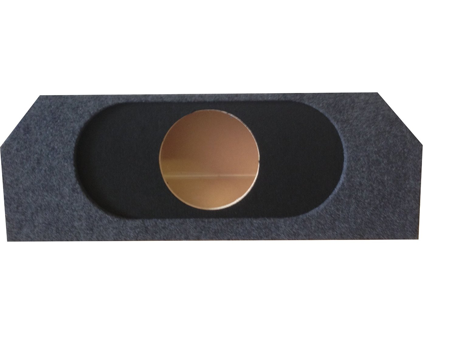 "Zenclosures 2011-2014 Mustang 1-10"" Subwoofer Box W/recessed Mounting Holes (Type 3)"