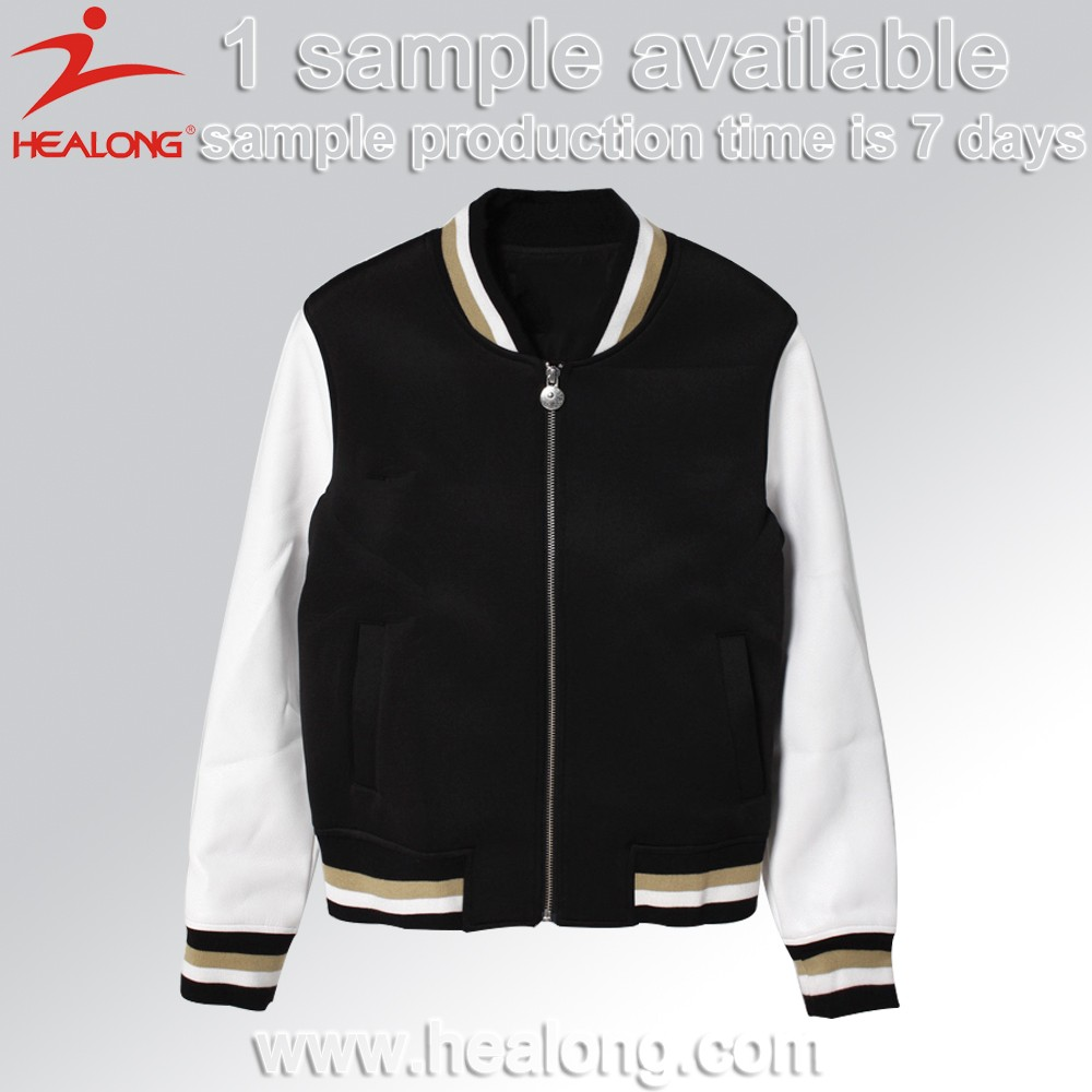 Black Red Baseball Jacket Black Red Baseball Jacket Suppliers and