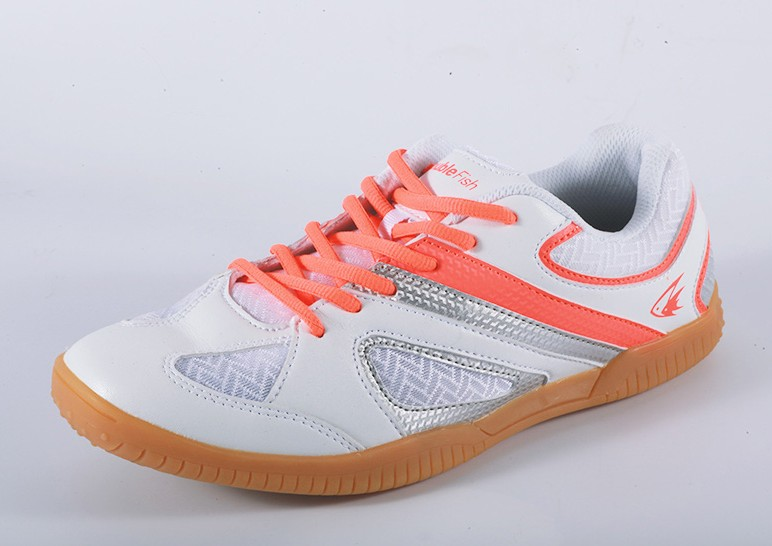 Double fish table tennis shoes men and women non-slip breathable summer table tennis sports shoes professional competition
