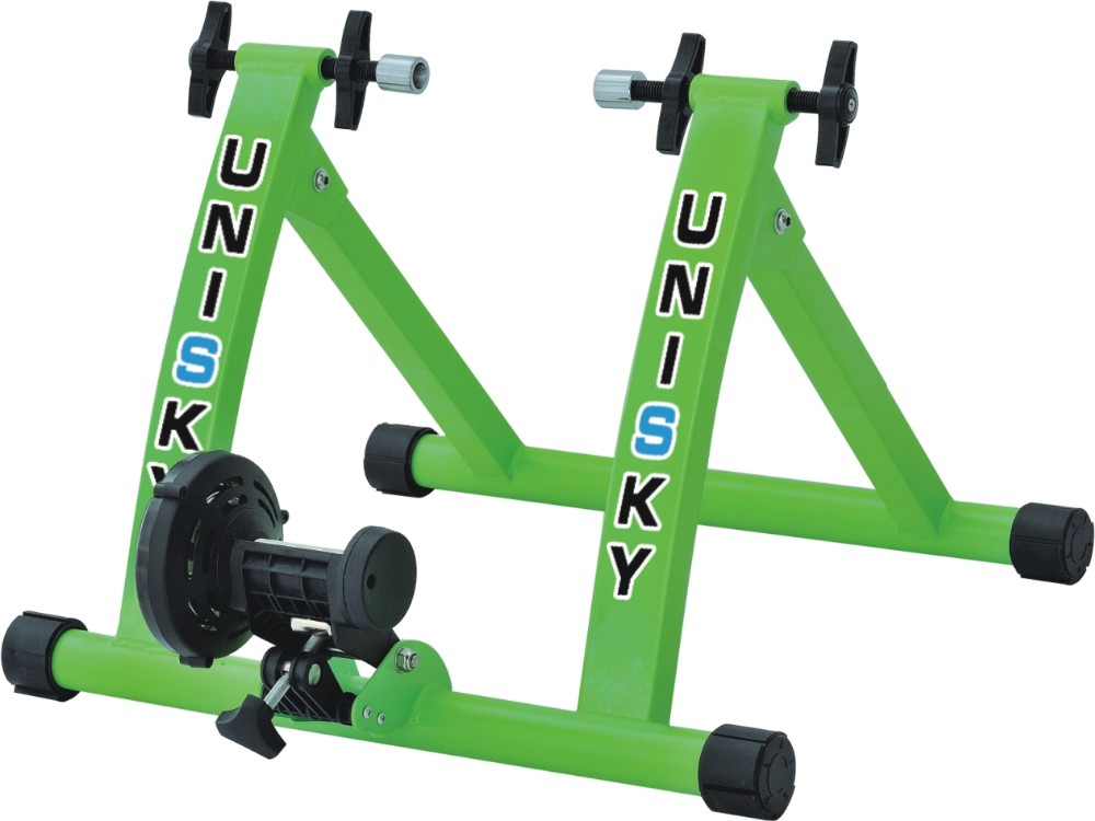 Resistance Indoor Bicycle Bike Trainer Exercise Stand Wheel Riser Block HOME GYM